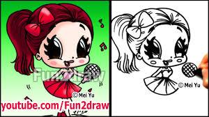 ariana grande how to draw people cartoon drawing tutorial