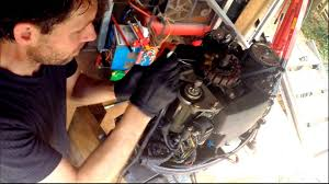 removing the powerhead from a yamaha 50hp four stroke outboard