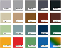 color selection epoxy flooring available in variety of colors color selection guide