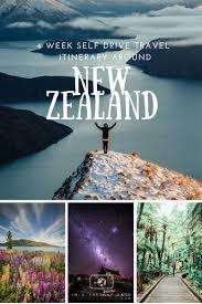 4 week ultimate self drive travel itinerary around new zealand