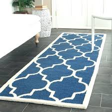 2 X 6 Runner Rugs Extraordinary Navy Blue Rug Runner Marvelous 2 X 6 Runner Rugs