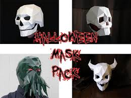 Cthulhu Halloween Costume Halloween Mask Patterns Devil