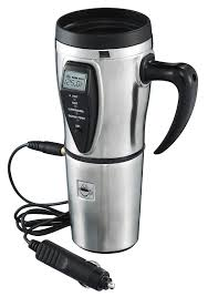 amazon com tech tools heated smart travel mug with temperature