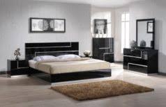 white simple bed design laminated wooden floor black bedroom