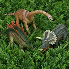 quadpro dinosaur toys sets for 8 jumbo