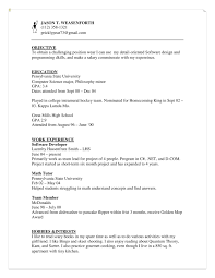 cover letter for summer camp summer camp counselor cover letter
