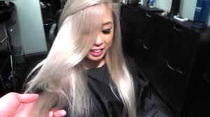 disney u0027s frozen inspired elsa hair color tutorial youtube