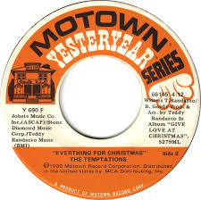 temptations christmas album 45cat the temptations silent everything for christmas