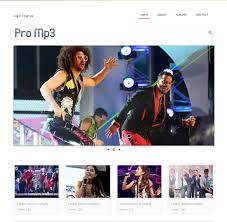 50 amazing band musician website templates in 2017