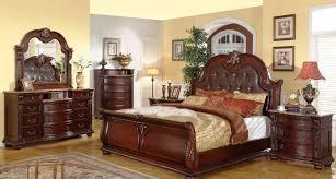 Luxury Bedroom Furniture Platform Bedroom Furniture Set With Leather Headboard 135 Xiorex