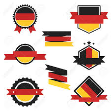 Germany Flag Colors World Flags Series Germany Flag On Tags Web Stickers Banners