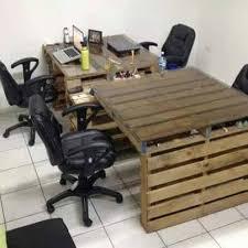 palette bureau bureaux en palettes diy conseils bricolage facile