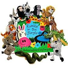 rumble jungle book finger puppets amazon uk toys