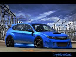 subaru hatchback custom rally x tomi design subaru impreza wrx sti