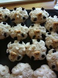 sheep cupcakes smart cookie baking