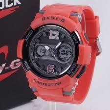 Jam Tangan Baby G baby g bga 210 merah 盪 jam tangan grosir termurah