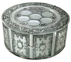 passover plates passover seder plate three tier silver plate f2 passover