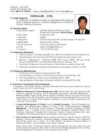 Best Resume Format For Quantity Surveyor by Cv Of Contracts Manager 24 Yrs Exp On Large Projects General