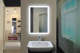 Led Backlit Bathroom Mirror Led Backlit Bathroom Mirror 20 X 28 In The Light House Gallery