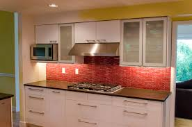red kitchen design ideas awesome red white black wood stainless glass modern design