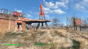 minecraft truck stop mb u0027s clean red rocket truck stop at fallout 4 nexus mods and