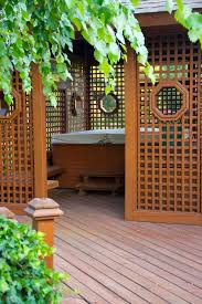 Backyard Porches And Decks by Best 25 Tub Deck Ideas On Pinterest Tub Patio Tubs