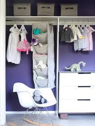 Hanging Closet Shelves by Interior Baby Closet Organizers With Double Hanging Clothes Areas