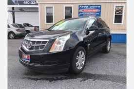 used srx cadillac for sale used cadillac srx for sale in baltimore md edmunds
