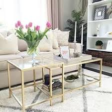 Living Room Tables Ikea Diy Tuesday Easy Gold Ikea Coffee Table Hack Ikea Coffee Table