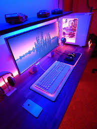computer desk gaming my happy place desks gaming setup and gaming