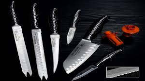 forever sharp 4 piece gourmet steak knife set youtube