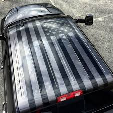 Dodge Ram Cummins Grill Cover - american flag roof graphic for my buddy b mitchell 22 on his new