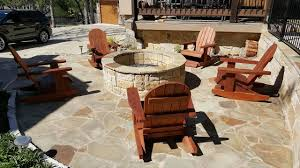 Adirondack Outdoor Furniture Adirondack Stationary The Redwood Patio