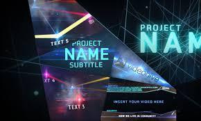 30 futuristic after effects templates naldz graphics