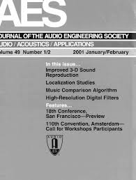 aes e library complete journal volume 49 issue 1 2