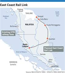 Link Light Rail Map New Railway To Link Kl To Kelantan Se Asia News U0026 Top Stories