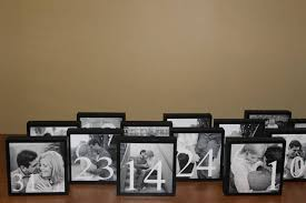 wedding table number ideas 4 clever table number ideas wedding fanatic