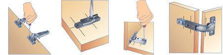 charni鑽e pour meuble de cuisine placer une charnière brico