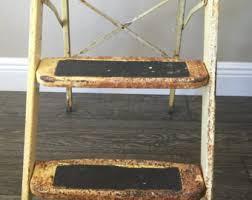 folding step stool etsy