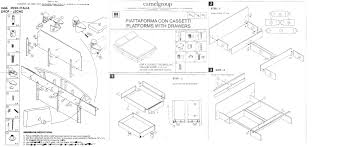 miss italia composition 3 camelgroup italy modern bedrooms assembling instruction for miss italia bed