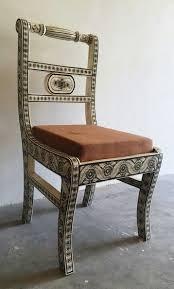 Bone Inlay Chair 19 Best Bone Inlay Furniture Images On Pinterest Bones Side