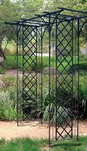 orleans wrought iron garden arbor overstock shopping great