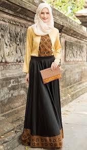 model baju model baju muslim batik pesta muslimah fashion style