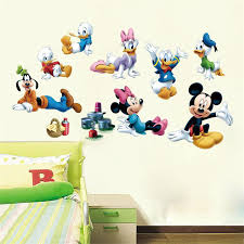 Aliexpresscom  Buy Newest Cartoon Mickey Mouse Donald Duck Baby - Stickers for kids room