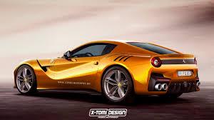 Ferrari F12 Yellow - impending ferrari f12 versione speciale rendered gtspirit