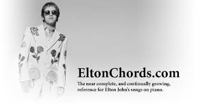 eltonchords com the online catalog for all songs elton john