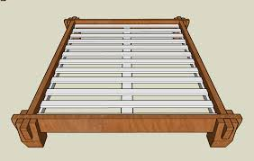 Bed Frame Connectors Asian Inspired Platform Bed By Silverhalo Lumberjocks