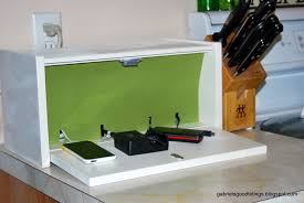 Diy Charging Station Bread Box Charging Station The Happy Housewife Home Management