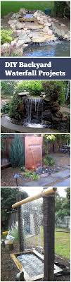 Best  Waterfall Design Ideas On Pinterest Garden Waterfall - Backyard waterfall design