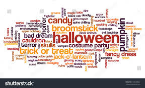 free halloween background for word black label with the words halloween party on orange background